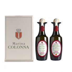 Set regalo oli evo del Molise Marina Colonna 2 x 250 ML - Molise  OlivYou
